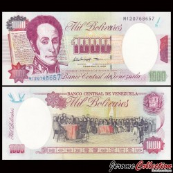VENEZUELA - Billet de 1000 Bolivares - 1998