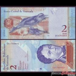 VENEZUELA - Billet de 2 Bolivares - 20 03 2007