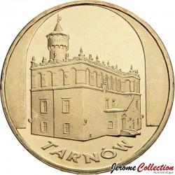POLOGNE - PIECE de 2 ZLOTE - Villes de Pologne : Tarnow - 2007