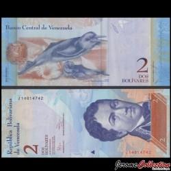 VENEZUELA - Billet de 2 Bolivares - 31 01 2012