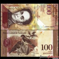 VENEZUELA - Billet de 100 Bolivares - 05 11 2015