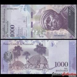 VENEZUELA - Billet de 1000 Bolivares - 18 08 2016