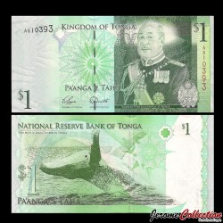 TONGA - Billet de 1 Pa'anga - 2008