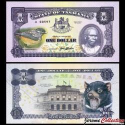 TASMANIE - Billet de 1 DOLLAR - Truganini - 2017