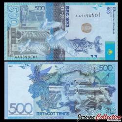 KAZAKHSTAN - Billet de 500 Tenge - 2017 P48a