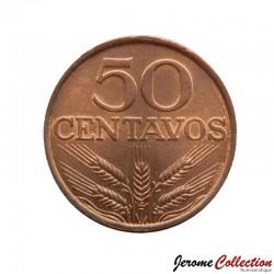 PORTUGAL - PIECE de 50 Centavos - 1977