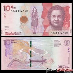COLOMBIE - Billet de 10000 Pesos - 2015 / 2017