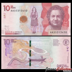 COLOMBIE - Billet de 10000 Pesos - 2015 / 2017