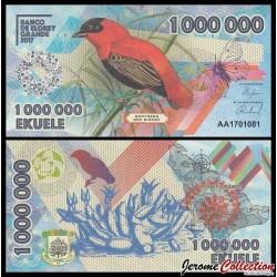 ELOBEY GRANDE - Billet de 1000000 Ekuele - Oiseau Euplecte franciscain - 2017