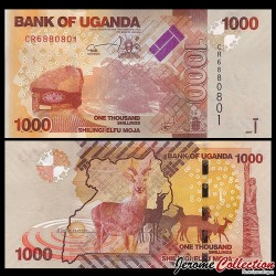 OUGANDA - Billet de 1000 Shillings / Shilingi - Antilopes - 2017