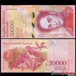 VENEZUELA - Billet de 20000 Bolivares - 18 08 2016