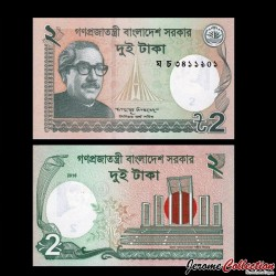 BANGLADESH - Billet de 2 Taka - 2016