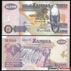 ZAMBIE - Billet de 100 Kwacha - 2008