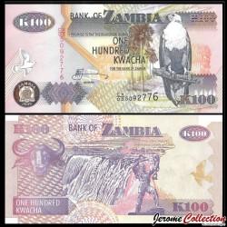 ZAMBIE - Billet de 100 Kwacha - 2009