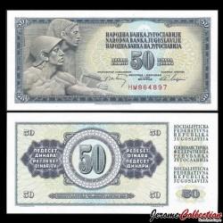 YOUGOSLAVIE - Billet de 50 Dinara - 1 V 1968