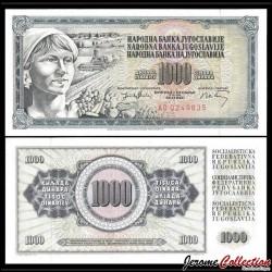 YOUGOSLAVIE - Billet de 1000 Dinara - 19 XII 1974