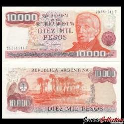 ARGENTINE - Billet de 10000 Pesos - 1976 / 1983
