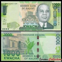 MALAWI - Billet de 1000 Kwacha - 2016