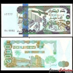 ALGERIE - Billet de 2000 Dinars - 24.03.2011