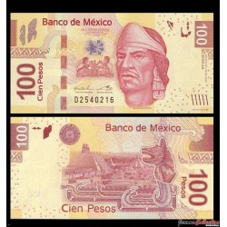 MEXIQUE - Billet de 100 Pesos - 19.12. 2012