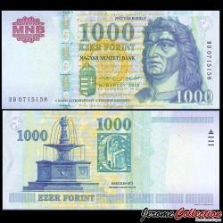 HONGRIE - Billet de 1000 Forint - 2015
