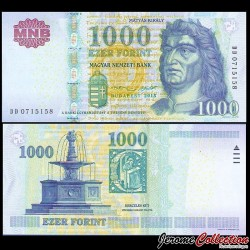 HONGRIE - Billet de 1000 Forint - 2015 P197e