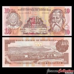 HONDURAS - Billet de 10 Lempiras - 06.05.2010