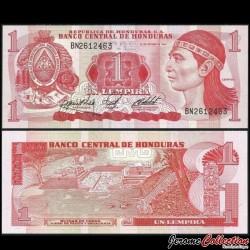 HONDURAS - Billet de 1 Lempira - 18.10.1984