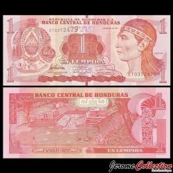 HONDURAS - Billet de 1 Lempira - 01.03.2012