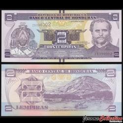 HONDURAS - Billet de 2 Lempiras - 01.03.2012