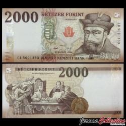 HONGRIE - Billet de 2000 Forint - 2016