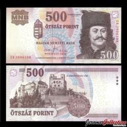 HONGRIE - Billet de 500 Forint - 2008 P196b