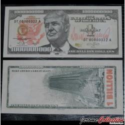 ETATS-UNIS / USA - Billet de 1 Billion DOLLARS - Trump Tower - 2016