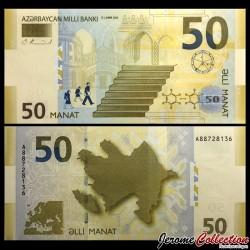 AZERBAIDJAN - Billet de 50 Manat - 2005