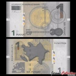 AZERBAIDJAN - Billet de 1 Manat - 2017