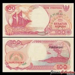 INDONESIE - Billet de 100 Rupiah - 1992 / 1999 P127g
