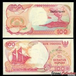 INDONESIE - Billet de 100 Rupiah - 1992 / 2000 P127h