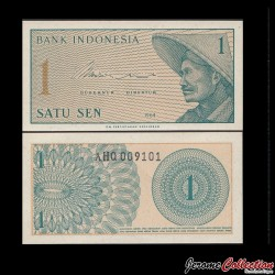 INDONESIE - Billet de 1 Sen - 1964