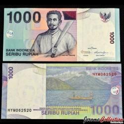 INDONESIE - Billet de 1000 Rupiah - 2011 P141k