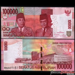 INDONESIE - Billet de 100000 Rupiah - 2013