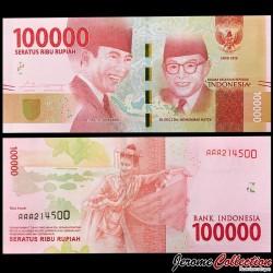 INDONESIE - Billet de 100000 Rupiah - 2016