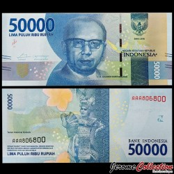 INDONESIE - Billet de 50000 Rupiah - 2016 P159a