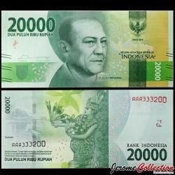 INDONESIE - Billet de 20000 Rupiah - 2016