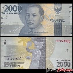 INDONESIE - Billet de 2000 Rupiah - 2016 P155a