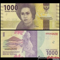 INDONESIE - Billet de 1000 Rupiah - 2016 P154a