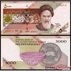 lRAN - Billet de 5000 Rials - 2013 / 2015