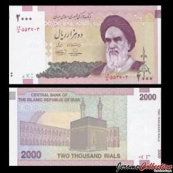 lRAN - Billet de 2000 Rials - 2005 / 2013
