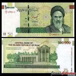 IRAN - Billet de 100000 Rials - Tombe de Saadi - 2013