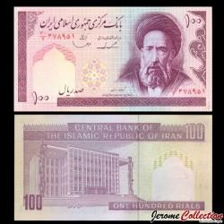 IRAN - Billet de 100 Rials - 1985 / 2005 P140c