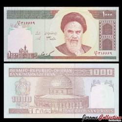 lRAN - Billet de 1000 Rials - 1992 / 2014